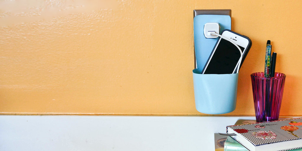Keep Cords Tidy With This Upcycled Plastic-Bottle Charging Station