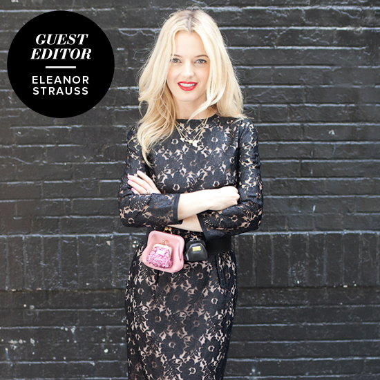 Guest Editor Shopbop's Eleanor Strauss