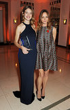 Stella McCartney presented Natalia Vodianova with her Philanthropist of the Year Award at Harper's Bazaar UK's event.