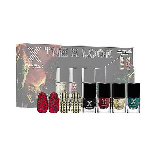 Let her deck out her nails in holiday hues with the Formula X for Sephora's The X Look ($23). It comes with coordinating nail wraps, so she can play with her look too.