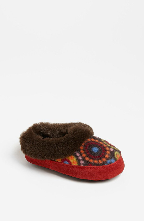 Acorn Hopscotch Slipper