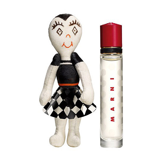 Marni had one of the biggest fragrance launches this year, and its Huggy Doll & Eau de Parfum Purse Spray ($50) duet is a perfect pick for holiday stocking.