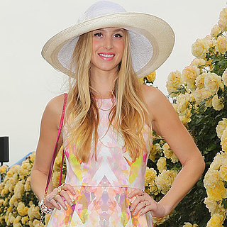 Jennifer Hawkins and Coco Rocha at Crown Oaks Day 2013