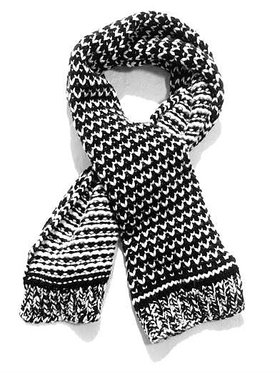 For a Winter staple that will last them years, gift them with this Stella McCartney Carpet patch chunky-knit scarf ($531).