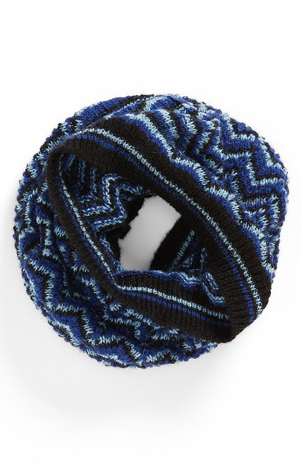 Getting wrapped up in this Missoni knit snood ($145) is as stylish as it is cozy.