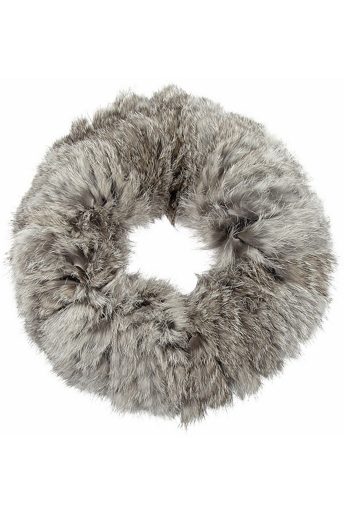 Seeking something a little more luxurious? This Eugenia Kim Nanette rabbit snood ($285) is as cozy as they come.