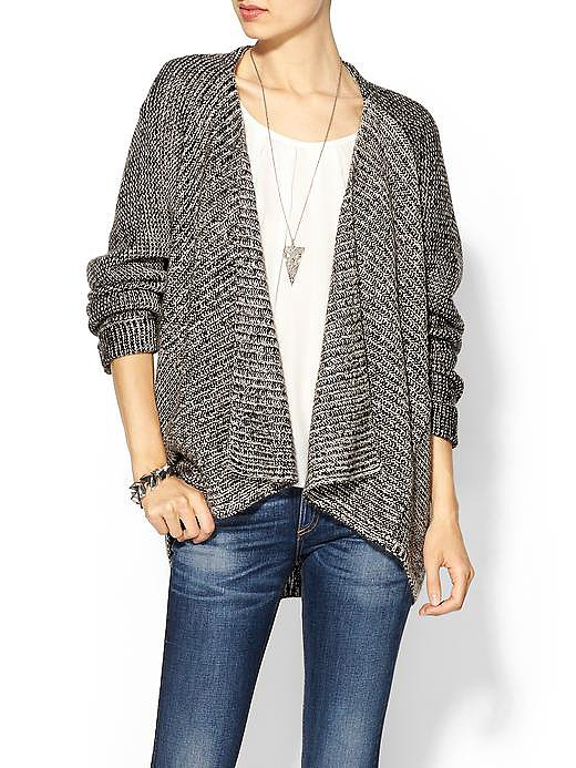 They'll love that they can take wear this Velvet by Graham & Spencer Dakota cashmere blend cardigan ($218) at home or style it up with jeans and take it out.