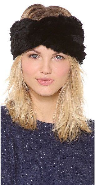 Who could resist this ultraluxe Eugenia Kim Kristi fur headband ($145)?