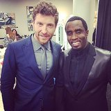"Diddy took a photo with Brett Eldredge, sharing it with the caption ""We support all genres!"" Source: Instagram user iamdiddy"