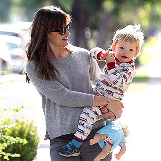 Jennifer Garner Running Errands With Samuel Affleck in LA