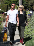 Gwen Stefani and Gavin Rossdale walked hand-in-hand in LA.