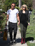 Gwen Stefani and Gavin Rossdale left a doctor's office together.