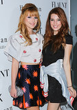 Bella Thorne linked up with her sister, Dani Thorne, at the party.