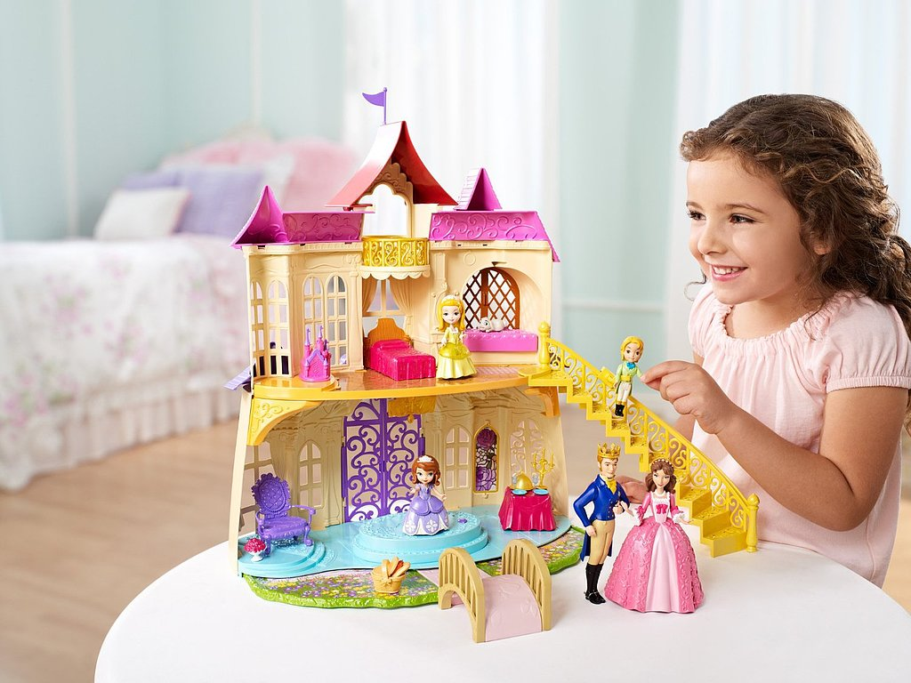 For 4-Year-Olds: Sofia the First Magical Talking Castle