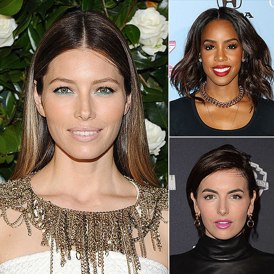 Jessica Biel's Blue Liner and More Looks to Try This Weekend