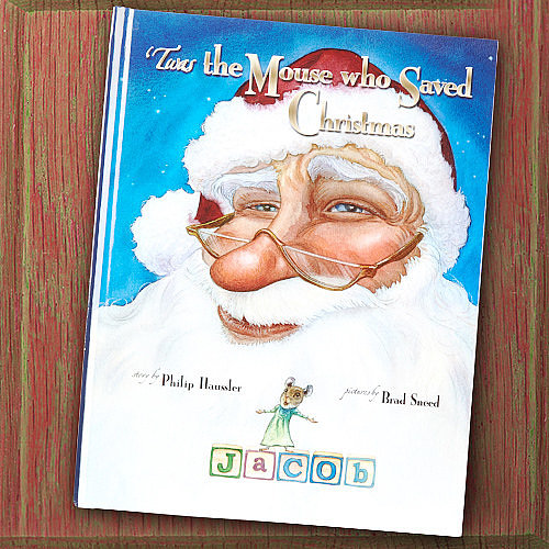 'Twas the Mouse Who Saved Christmas Personalized Storybook