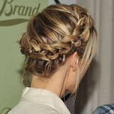 Celebrities love a good crown braid, and based on how popular this pin was, crown braids are a reader favorite, too.