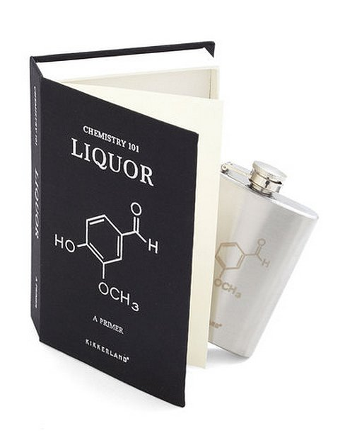In the Spirit of Surprise Flask