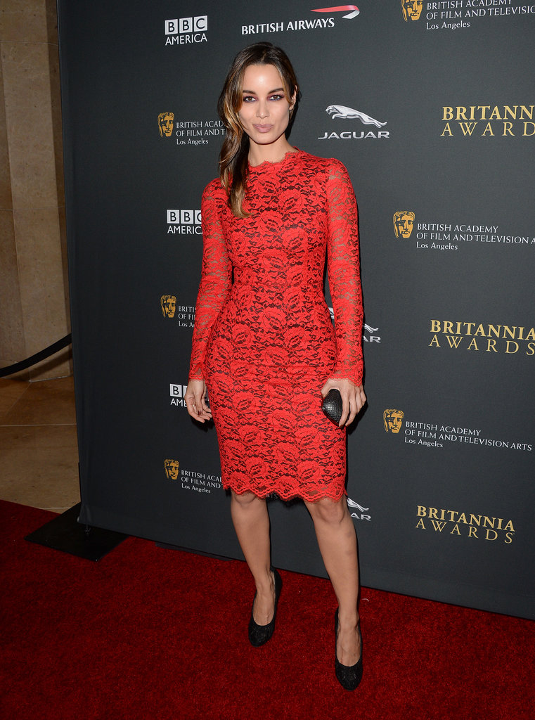 Bérénice Marlohe attended the BAFTA LA Jaguar Britannia Awards.