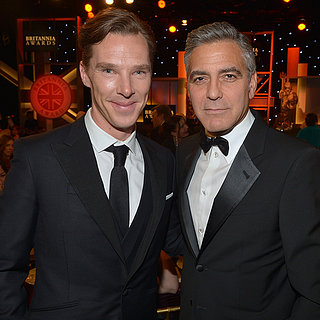 George Clooney and Julia Roberts at the BAFTA LA Awards