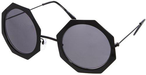ASOS Oversized Metal Hexagon Sunglasses