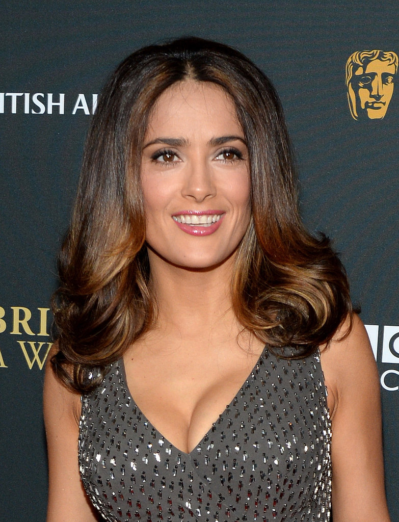 We love Salma Hayek's take on a vintage style at the 2013 BAFTA LA Jaguar Britannia Awards.