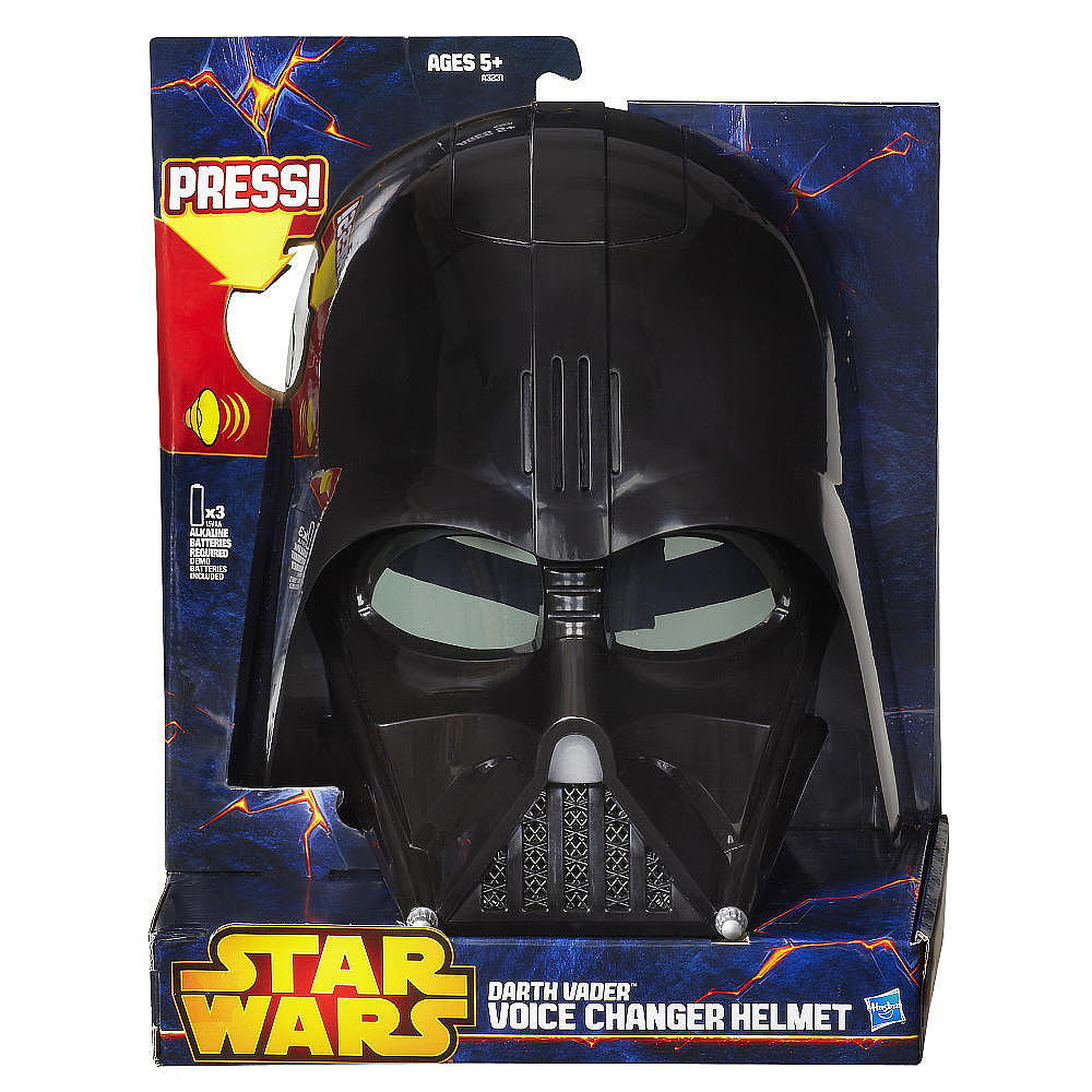 For 5-Year-Olds: Star Wars Darth Vader Voice Changer