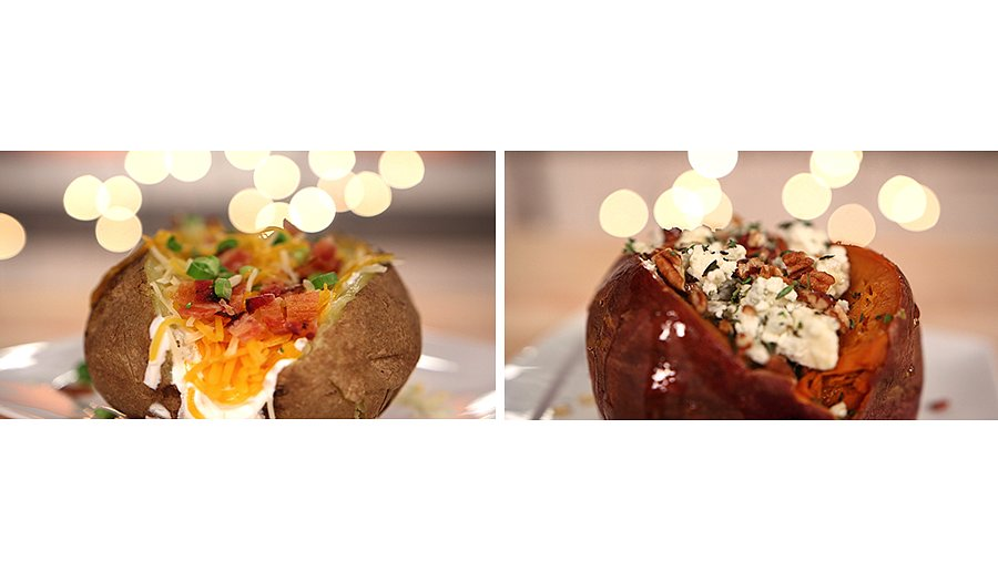 Fully Loaded Thanksgiving Potatoes, Two Ways