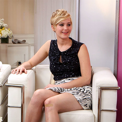 Jennifer Lawrence Catching Fire Interview (Video)