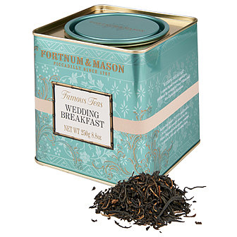 Fortnum and Mason's Wedding Breakfast loose leaf tea ($15)Fortnum and Mason is the royal family's official grocer, and this tea was designed specifically to mark Kate Middleton and Prince William's wedding day.
