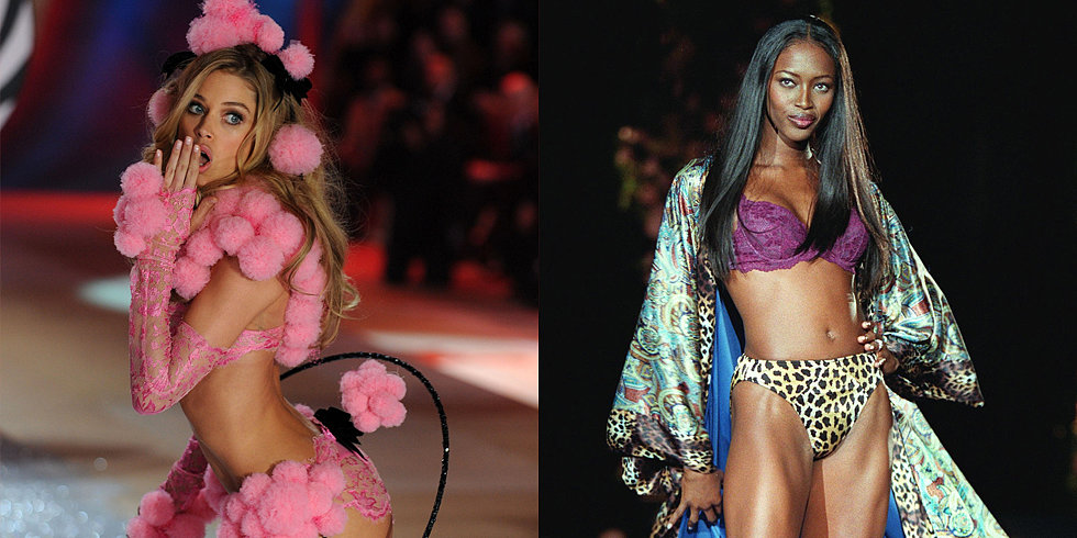 How the Victoria's Secret Idea of Sexy Has Evolved