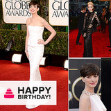 Happy Birthday, Anne Hathaway! See Her Best Red Carpet Moments