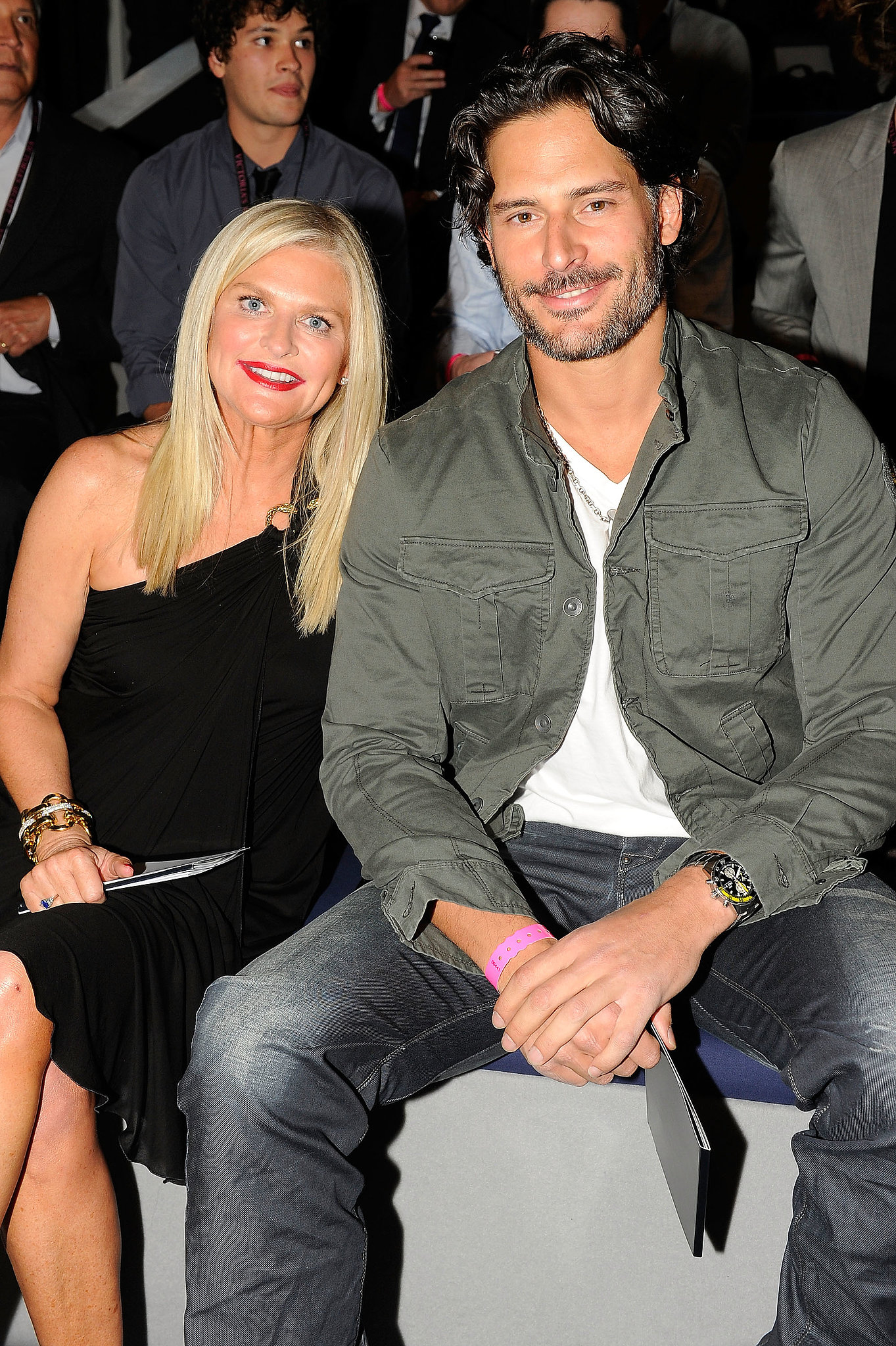 Joe Manganiello had a prime seat for the 2011 action.