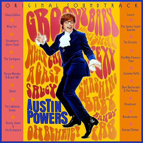 Austin Powers: International Man of Mystery Soundtrack The first time I ever went to Best Buy, I brought my allowance and bought the only album that I recognized: the soundtrack to 1997's Austin Powers: International Man of Mystery. I still stand by its hip mix of Burt Bacharach and Strawberry Alarm Clock. — Maggie Pehanick, assistant entertainment editor