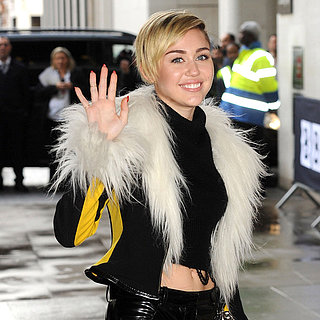 Miley Cyrus Leaving BBC Radio 1 in London