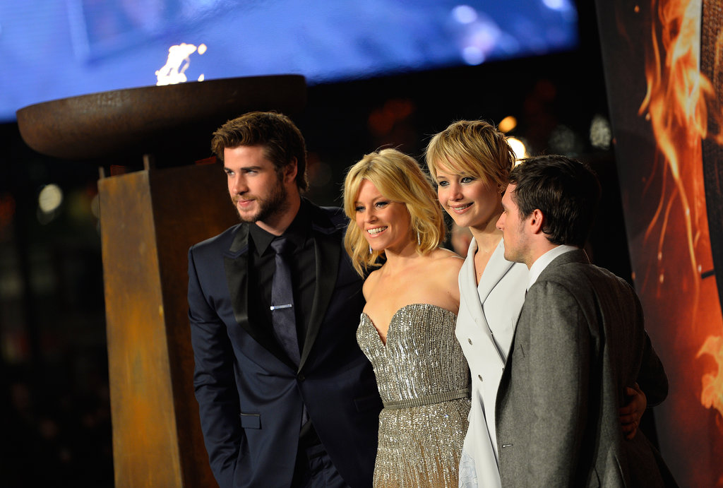 The Catching Fire Cast Gets the Giggles in Berlin