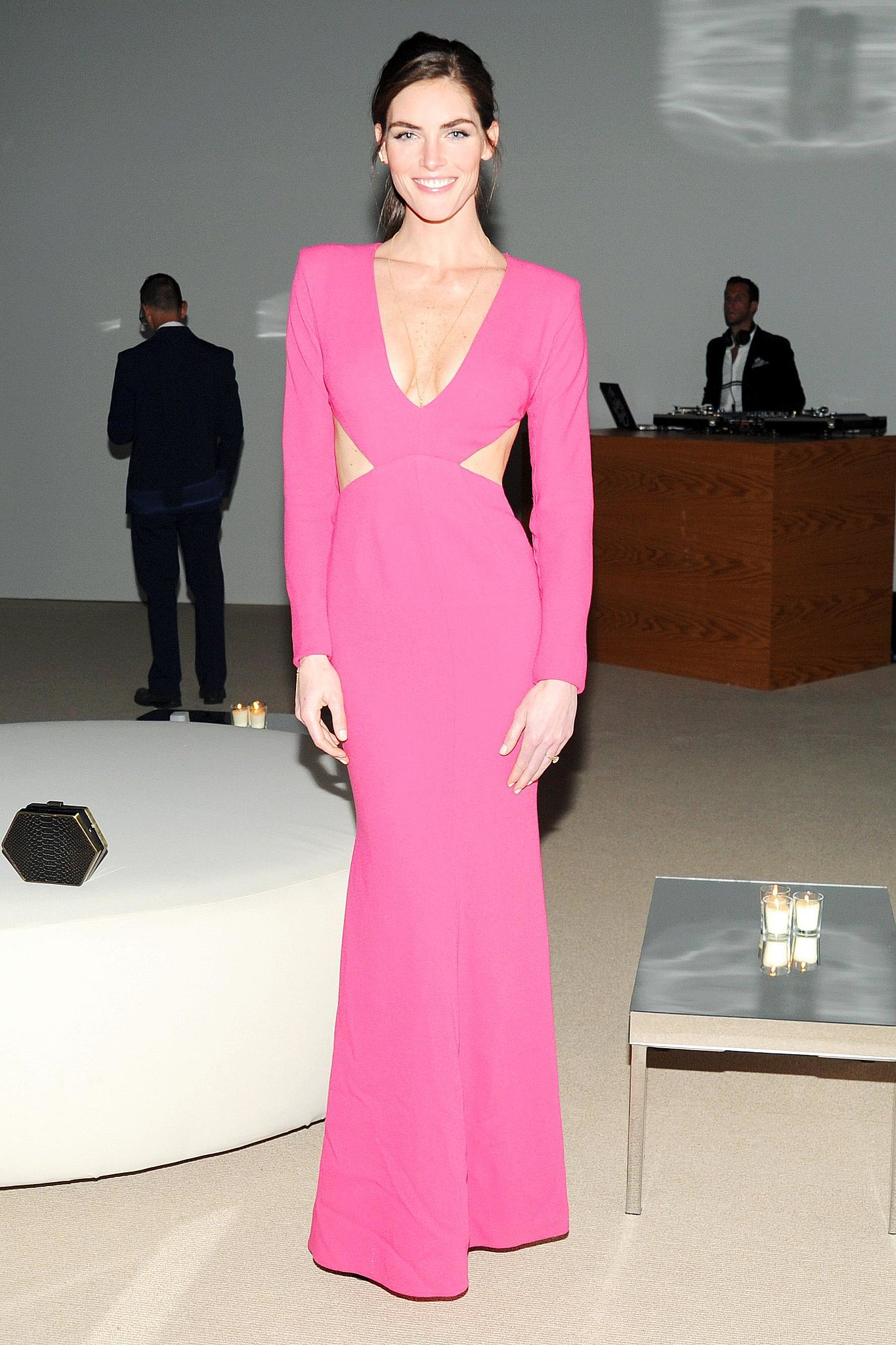 Hilary Rhoda in Rachel Roy