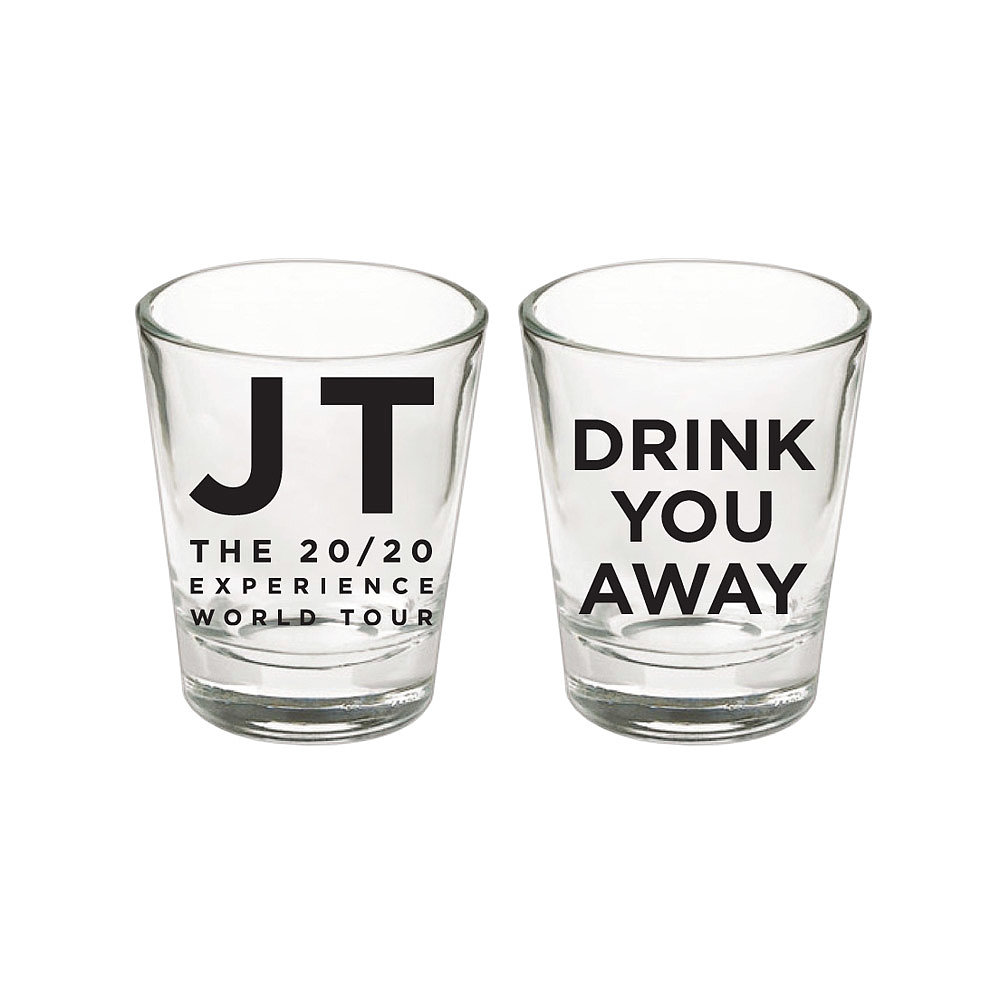 Drink You Away Shot Glass ($15)