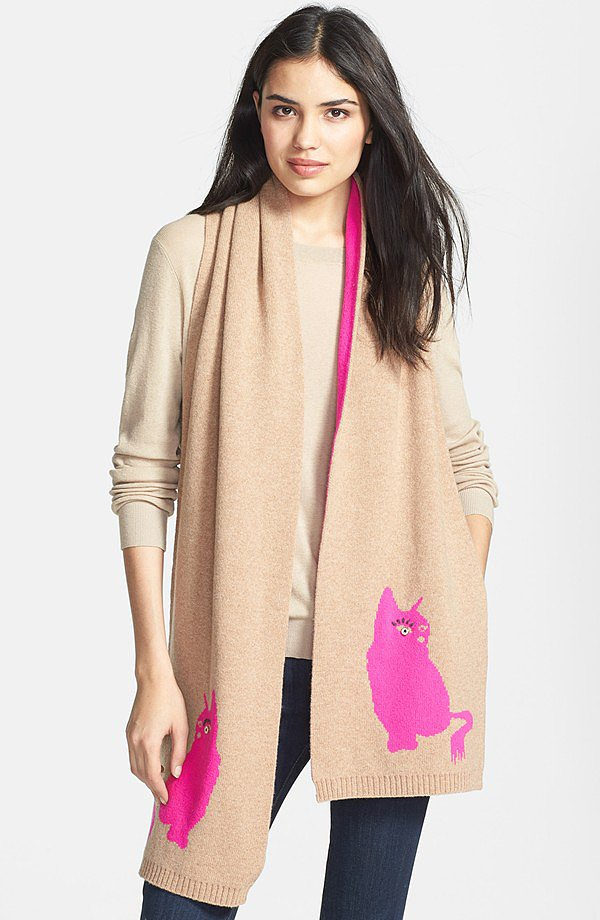 Marc by Mac Jacobs Rue Merino Wool Scarf ($98)