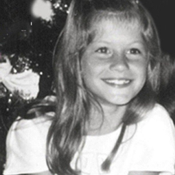 Gisele Bündchen was too sweet in this throwback snap.  Source: Instagram user giseleofficial