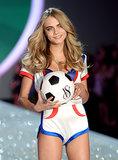 Cara Delevingne shared her sporty side.