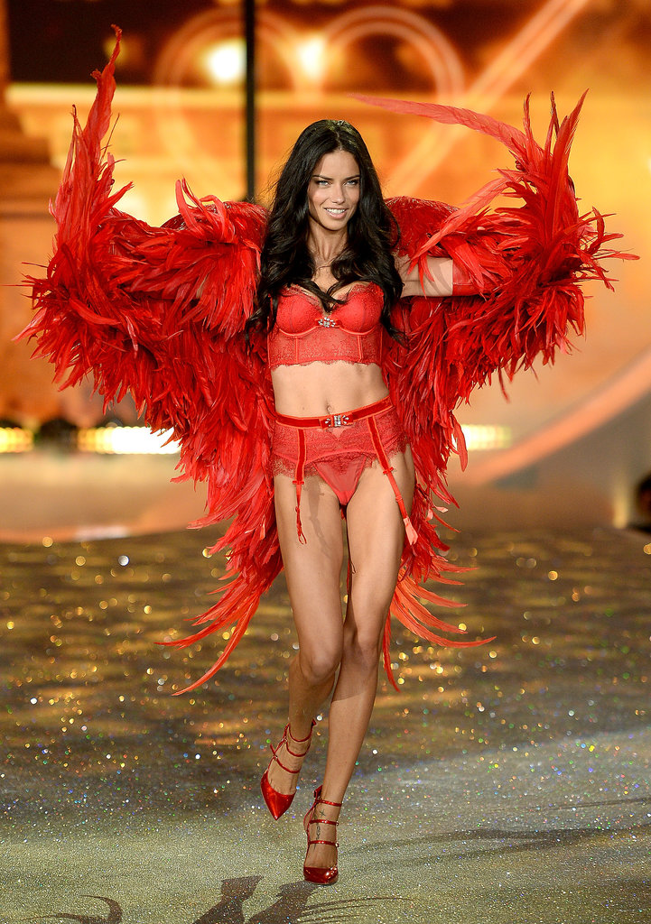 Adriana Lima was a red-hot seductress.