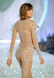 Karlie Kloss wore a nude ensemble that reminded us of Britney Spears's iconic Toxic music video.
