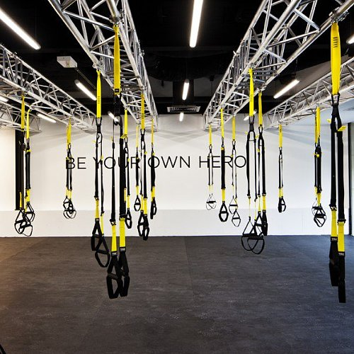 Hybrid Class: TRX and Spin at Paddington's Flow Athletic