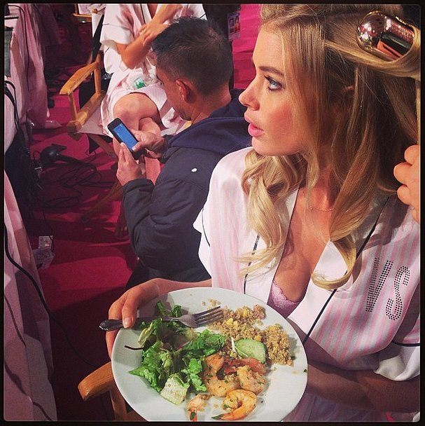 See, models do eat — and, as Doutzen Kroes proved, healthfully, no less! Source: Instagram user doutzen