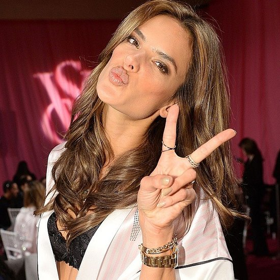 Angels Get Glammed Up Backstage at Victoria's Secret Show