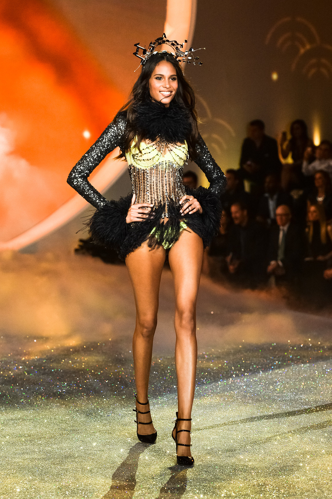 cindy bruna every runway look from the victoria s secret