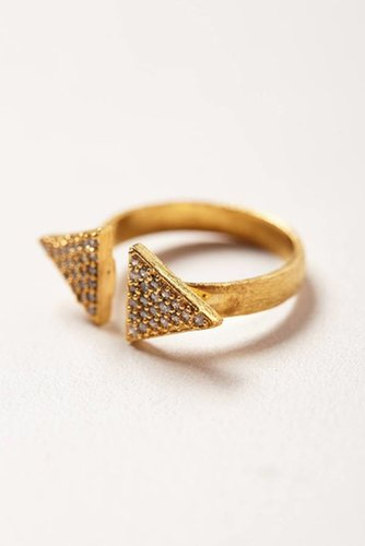Open Arrow Ring