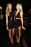 Erin Heatherton and Lily Donaldson each debuted dramatic updates to the classic little black dress.