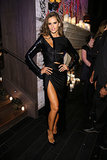 Izabel Goulart shed her angelic exterior for an ultrasexy black look.